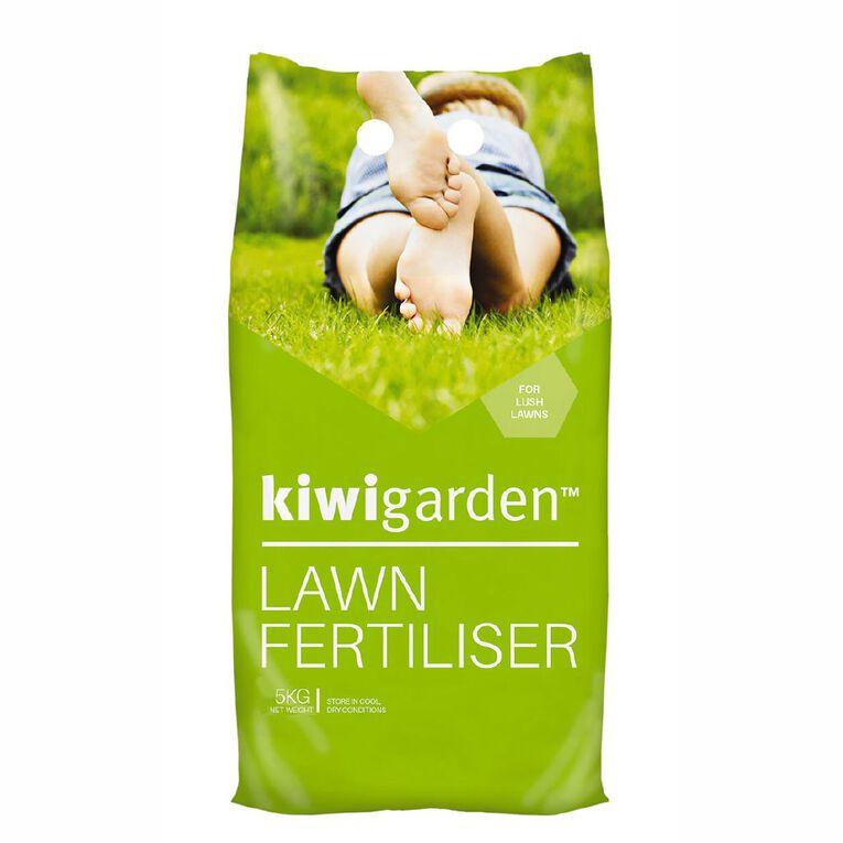 Kiwi Garden Lawn Fertiliser 5kg, , hi-res