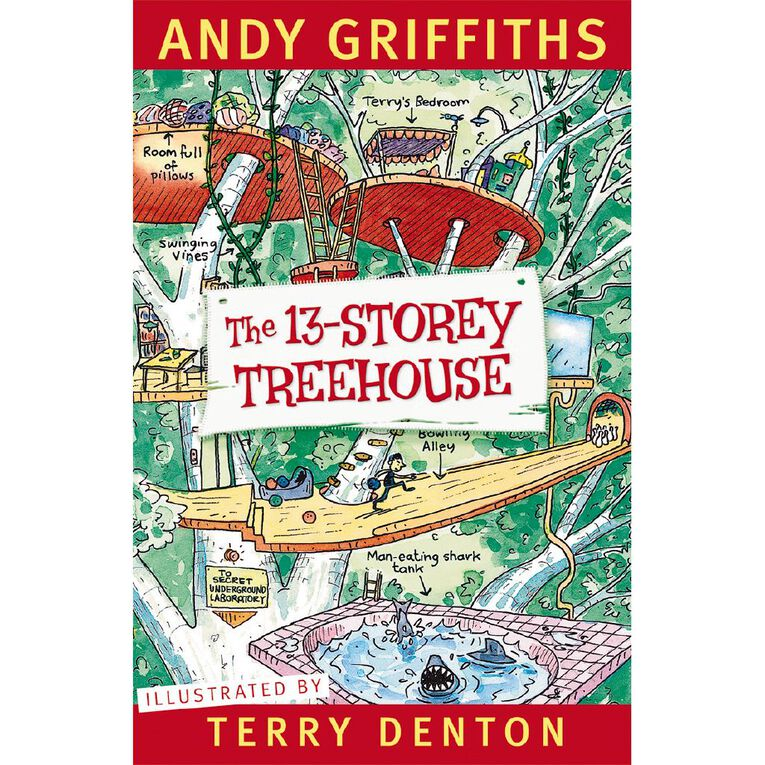 The 13 Storey Treehouse by Andy Griffiths, , hi-res