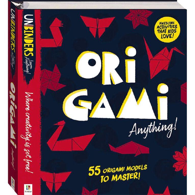 Unbinders: Origami Anything, , hi-res