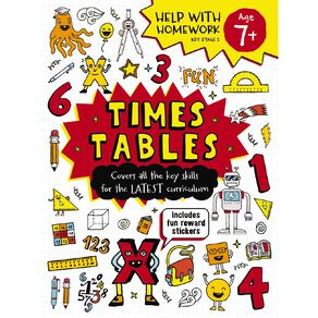 Help with Homework Expert 7+ Times Tables