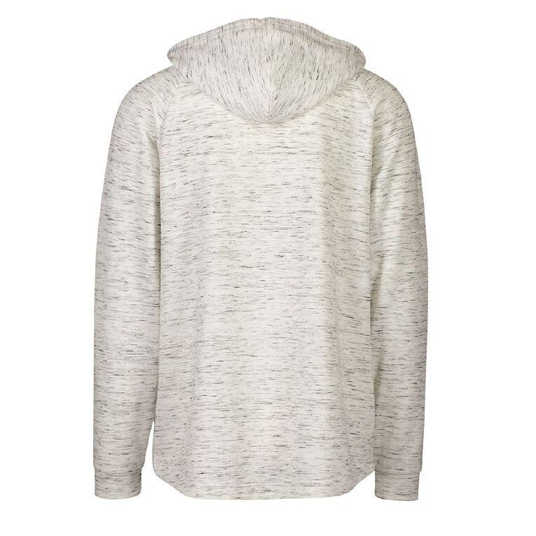 Active Intent Men's Marle Panel Sweatshirt, Cream, hi-res