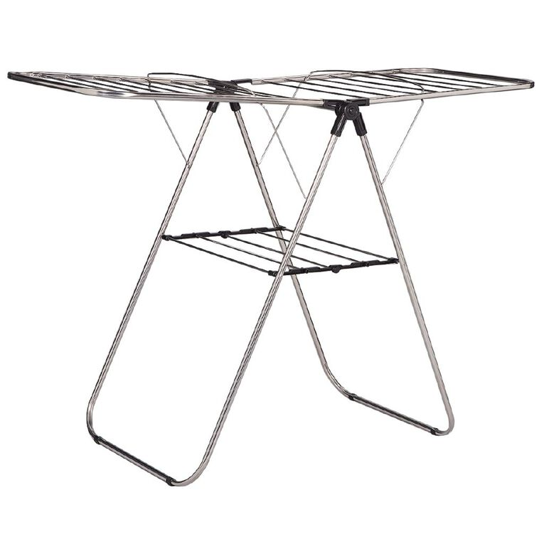 Living & Co Airer Stainless Steel Drying Space Silver 13m, , hi-res