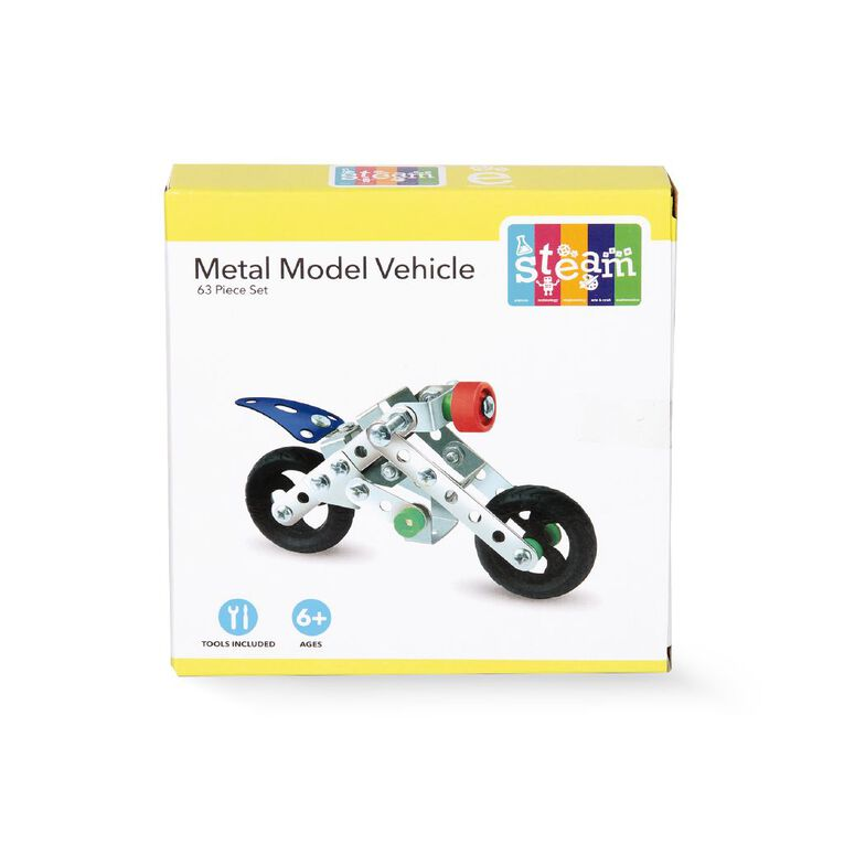 STEAM Make Your Own Metal Model Vehicle Assorted, , hi-res