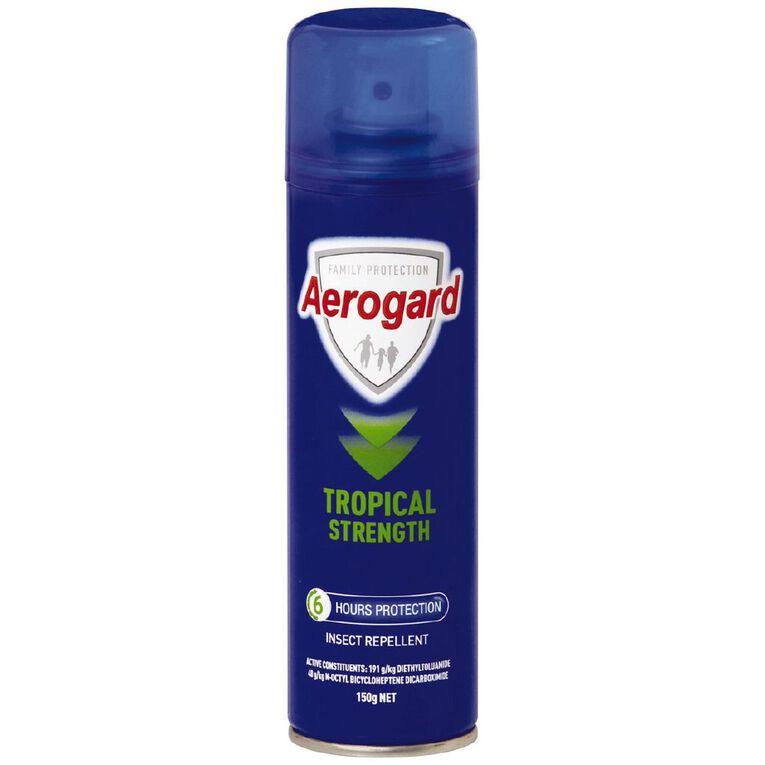 Aerogard Tropical Strength Aerosol 150g, , hi-res