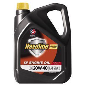 Caltex Havoline SAE 20W-40 SF Engine Oil 4L