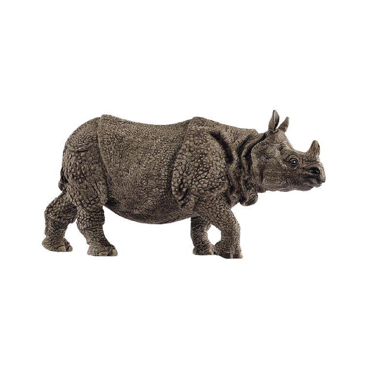 Schleich Indian Rhinoceros, , hi-res