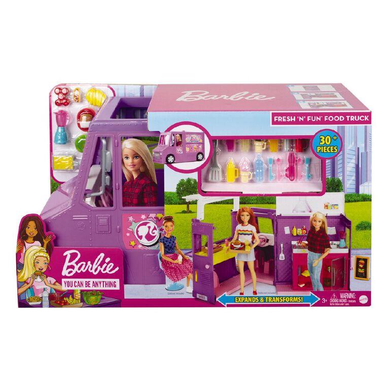 Barbie Food Truck, , hi-res
