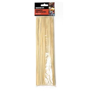 Gascraft BBQ Bamboo Skewers 100 Pack