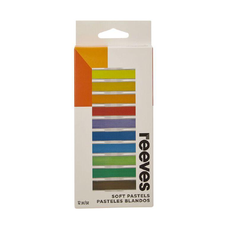 Reeves Soft Pastels 12 Pack, , hi-res