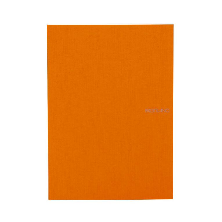Fabriano Ecoqua Sketchbook Dotted 85GSM 90 Sheets Orange A4, , hi-res
