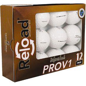 Titleist 12 Refinished Pro V Golf Balls
