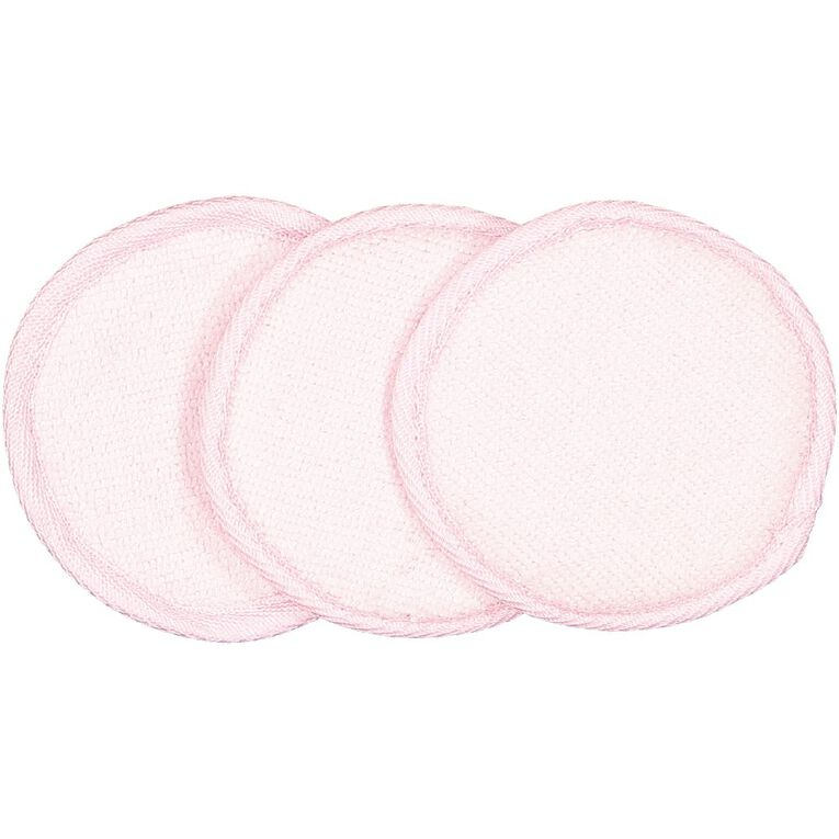 Colour Co. Microfibre Reusable Makeup Removing Pads 3 Pack, , hi-res