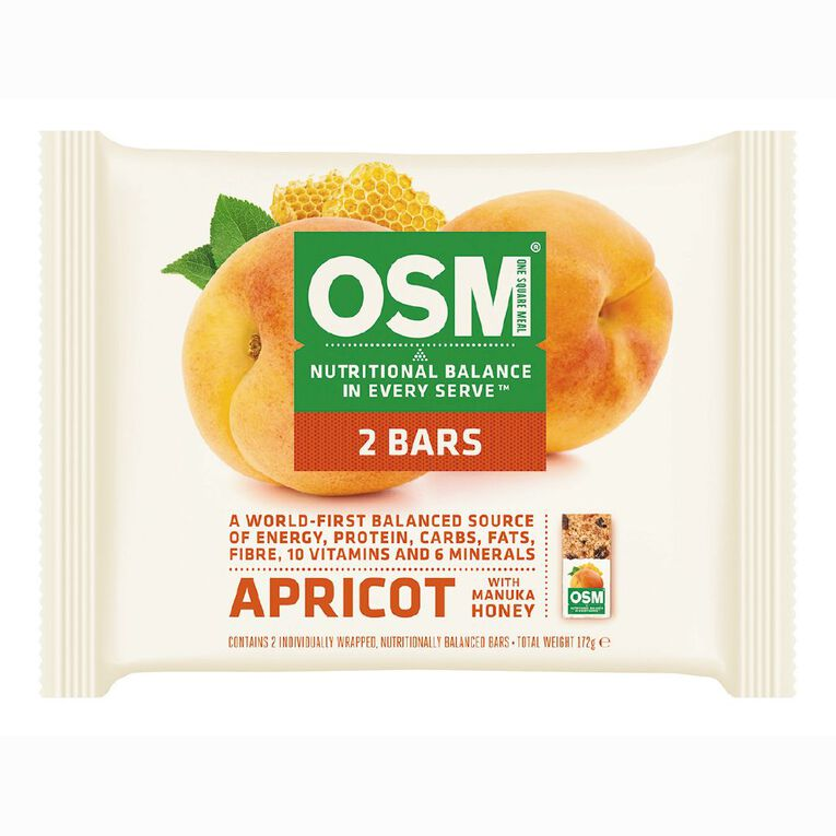 One Square Meal Apricot 172g 2 Pack, , hi-res