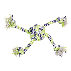Petzone Rope Toy With Central Knot