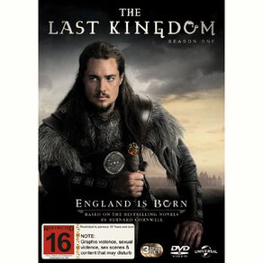 The Last Kingdom Season 1 DVD 1Disc