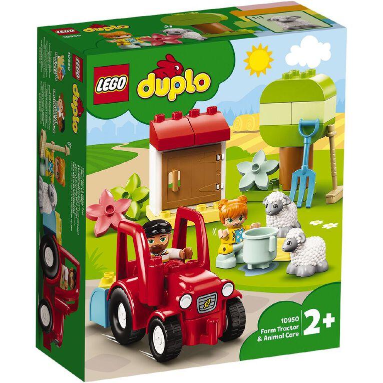LEGO DUPLO Farm Tractor & Animal Care 10950, , hi-res