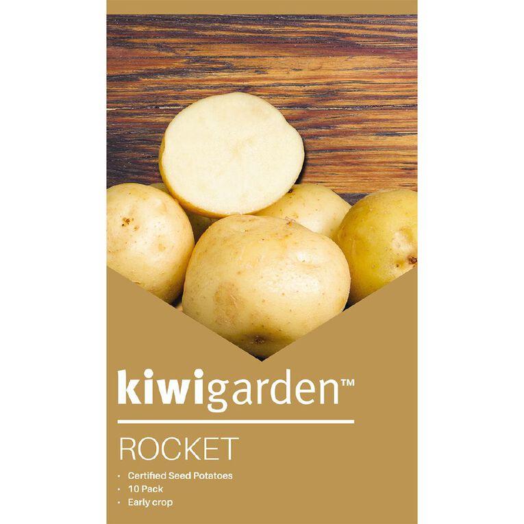 Kiwi Garden Seed Potato Rocket 10PK, , hi-res