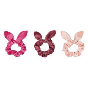 Colour Co. Velvet Scrunchies 3 Pack