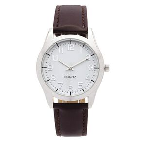 Eternity Men Classic Analogue Watch Brown White