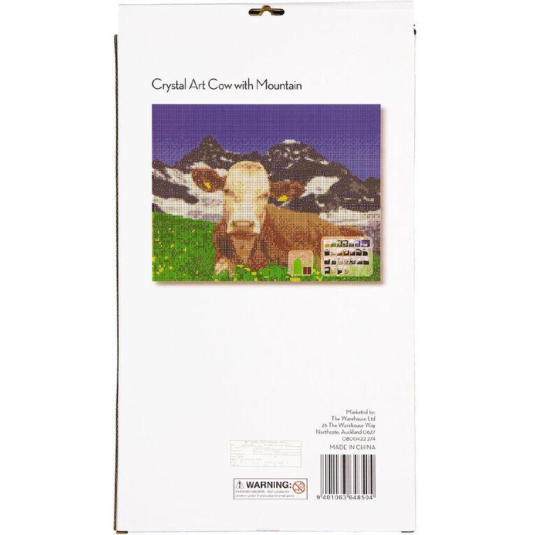 Uniti Crystal Art 35x45cm Cow & Mountain, , hi-res