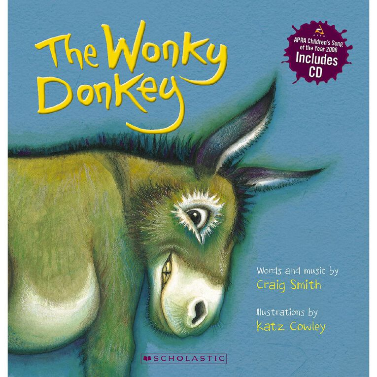 The Wonky Donkey with CD by Craig Smith, , hi-res
