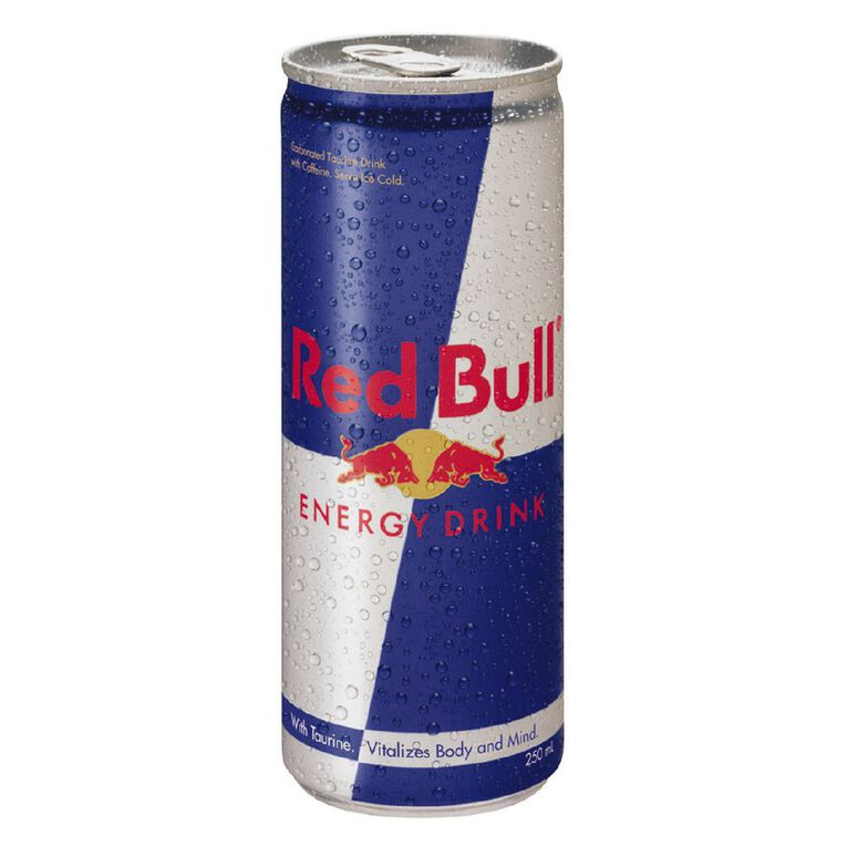 Red Bull Energy Drink Can 250ml, , hi-res