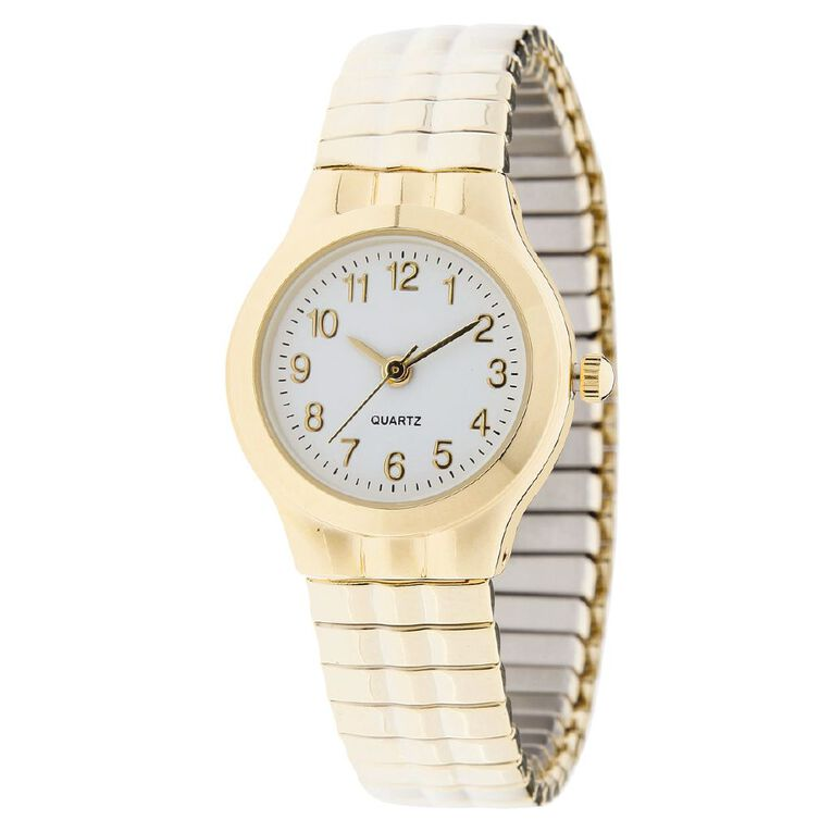 Eternity Women Classic Analogue Expander Watch Gold, , hi-res