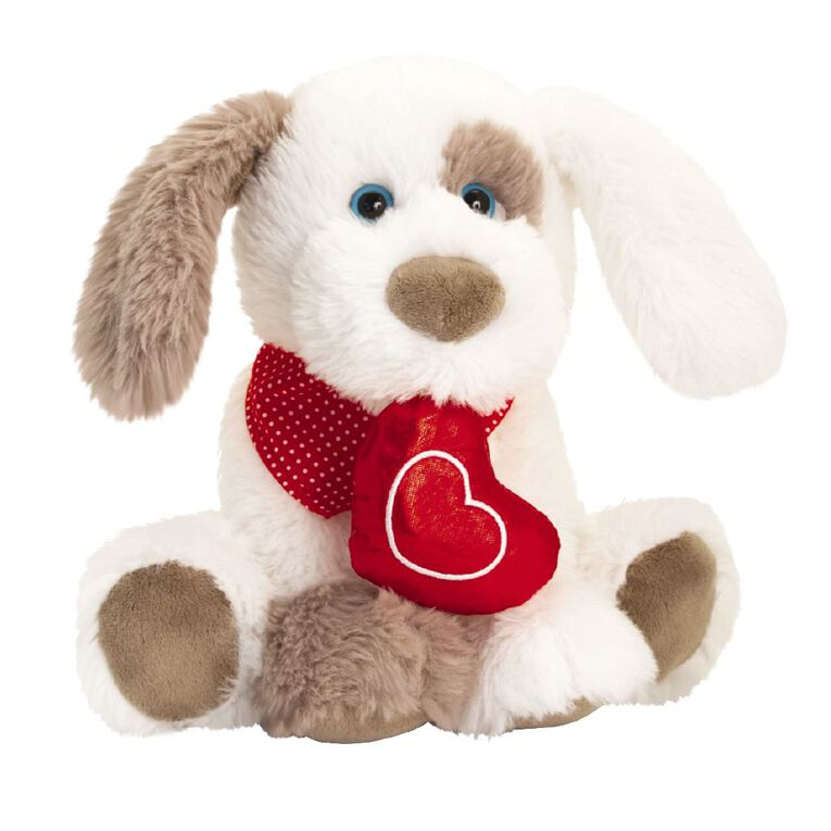 Ruffles Patch Dog w/Heart 25cm Assorted, , hi-res