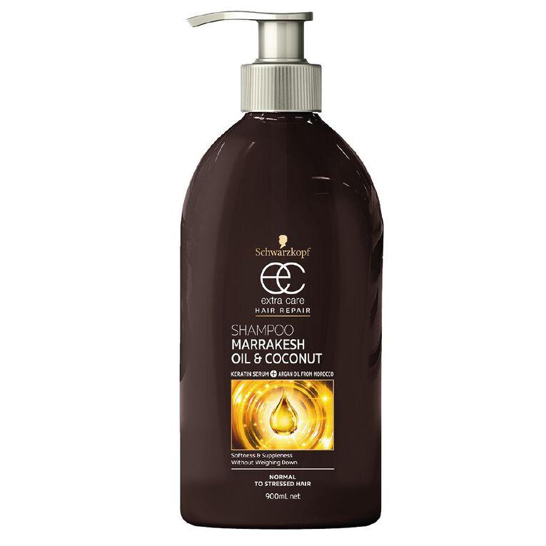 Schwarzkopf Extra Care Marrakesh Oil Shampoo 900ml, , hi-res