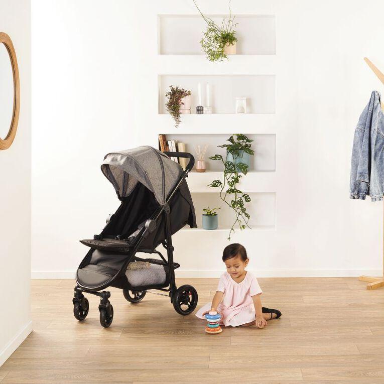 Mother's Choice Ava 4 Wheel Stroller - Grey Slate, , hi-res