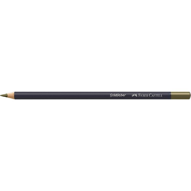 Faber-Castell Colour Pencil Goldfaber Col173 - Olive Green Yellowish, , hi-res