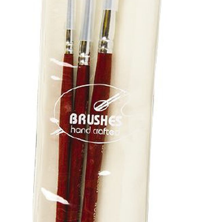 DAS Brush Set Das Synthetic Round 3 Pack Gold, , hi-res image number null