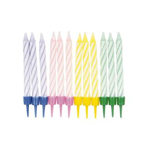 Party Inc Birthday Candles 12 Pack