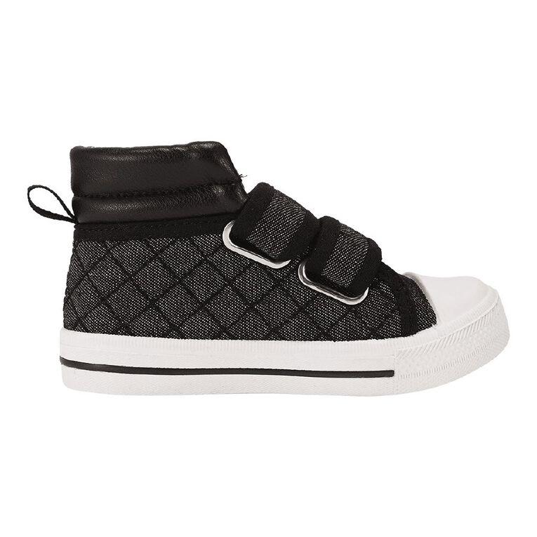 Young Original Flint Canvas Shoes, Black, hi-res