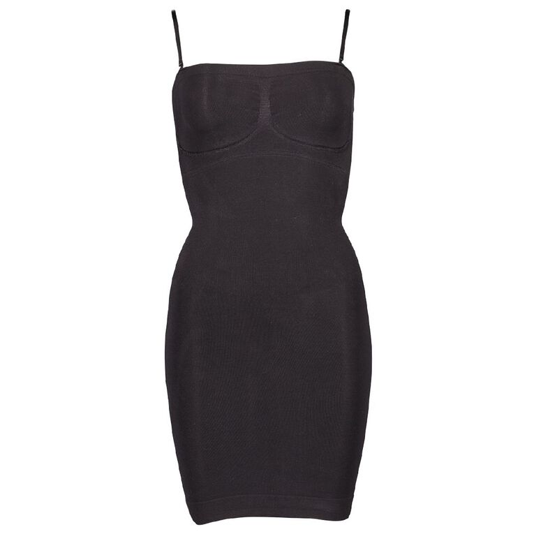 Clio Shaping Strapless Slip, Black, hi-res image number null