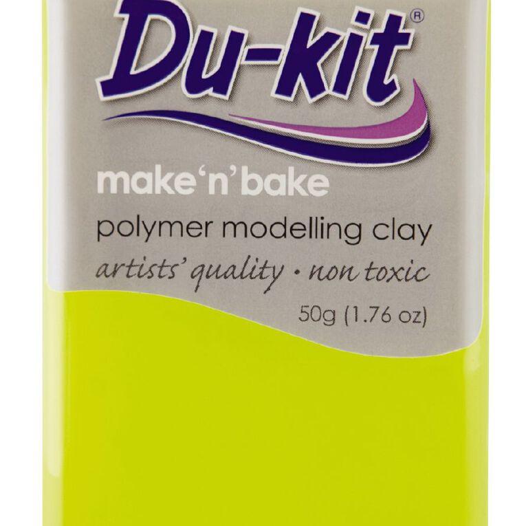 Du-kit Clay Fluoro Yellow 50g, , hi-res