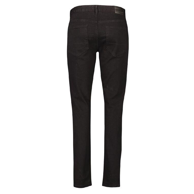 Garage Men's Skinny Jeans, Black, hi-res