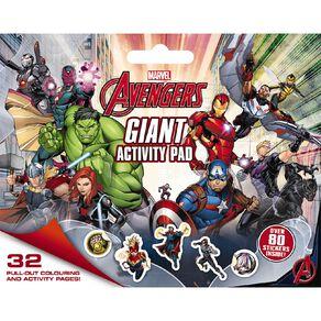 Marvel Avengers Classic: Giant Activity Pad