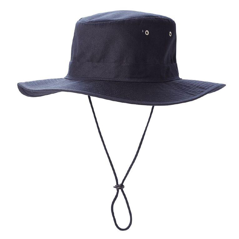 H&H Basic Cricket Hat, Navy, hi-res