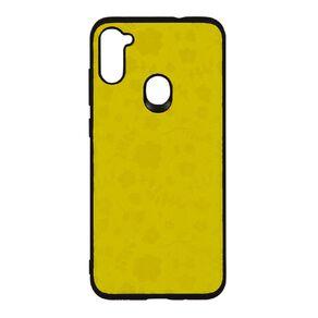 Botanic Geo Samsung A11 Phone Case Mustard