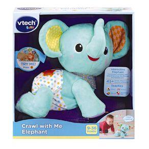Vtech Crawl with Me Elephant Assorted