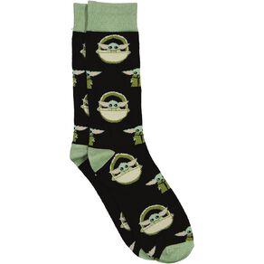 Crazy Socks Men's Crew Socks 1 Pack