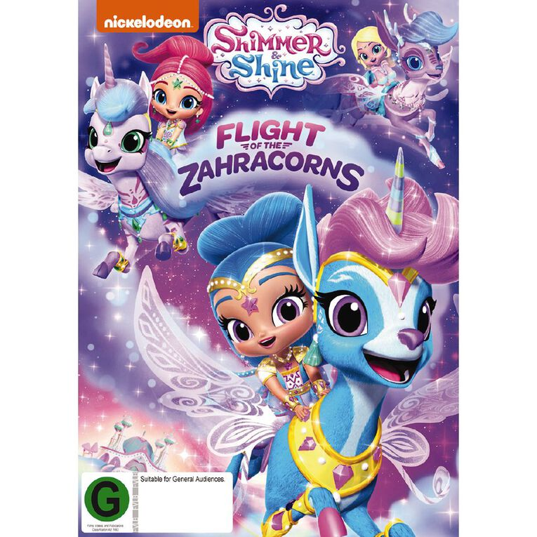Shimmer & Shine Flight Of The Zahracorns DVD 1Disc, , hi-res