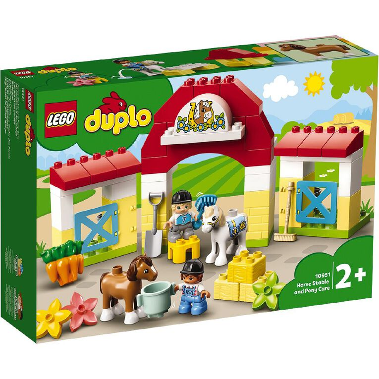 LEGO DUPLO Horse Stable and Pony Care 10951, , hi-res