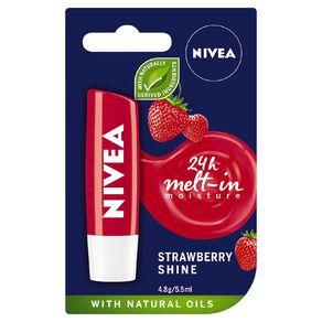 Nivea Care Strawberry Lip Balm 4.8g