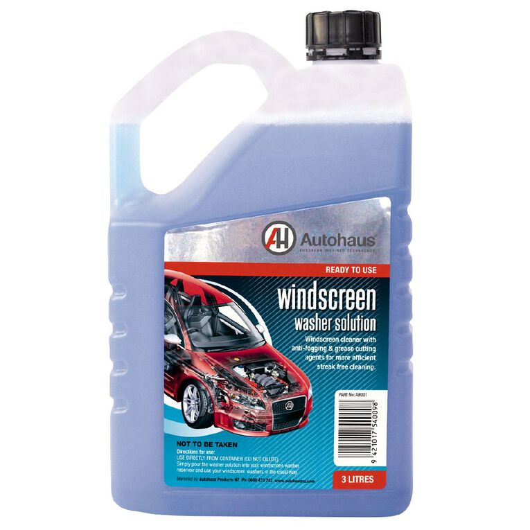 Autohaus Windscreen Washer Pre Mix 3L, , hi-res