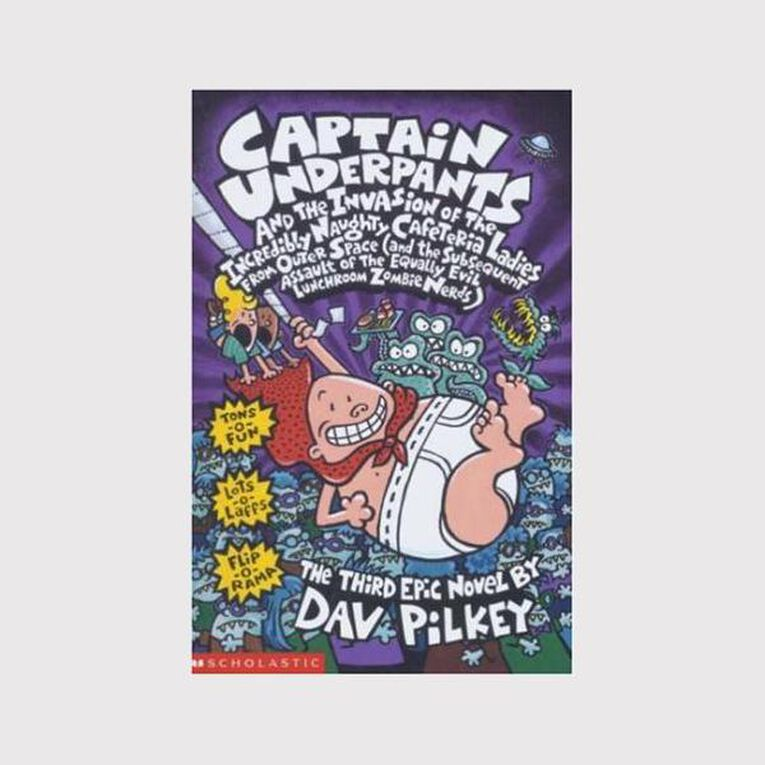 Captain Underpants # 3 - Invasion of Naughty Cafeteria Ladies, , hi-res