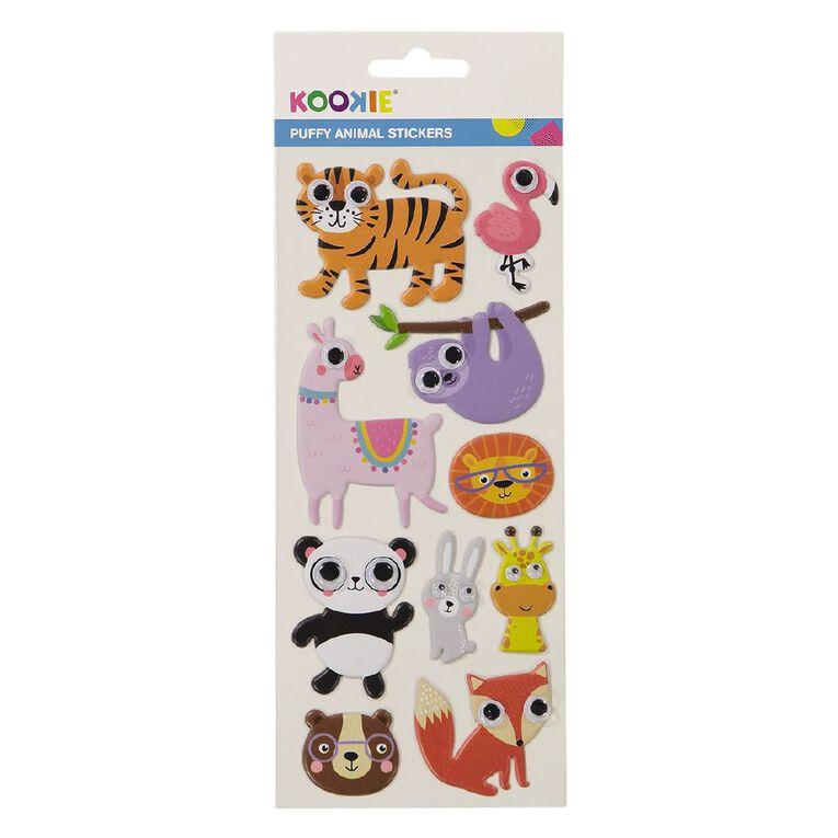 Kookie Sticker Sheet Puffy Eyes Animal, , hi-res image number null