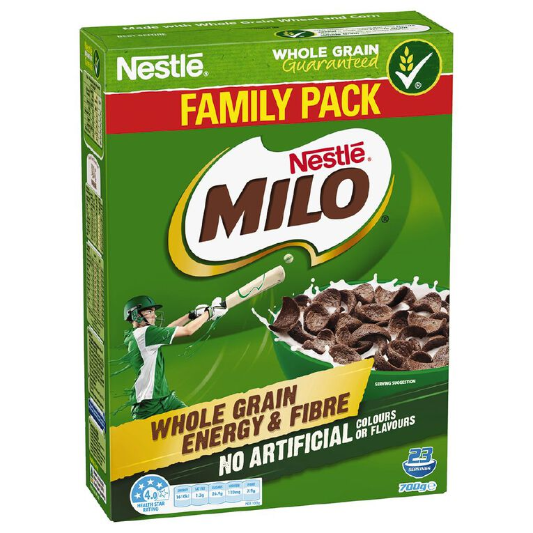 Milo Cereal 700g, , hi-res