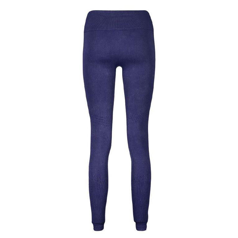 Active Intent Women's Seamless Leggings, Blue Dark, hi-res